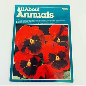VTG 80S GARDENING ALL ABOUT ANNUALS ADVICE BOOK